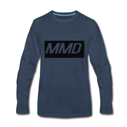 mddlogo - Men's Premium Long Sleeve T-Shirt
