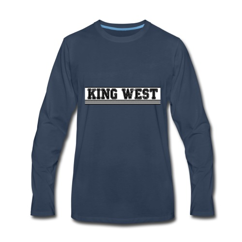 King West OG logo - Men's Premium Long Sleeve T-Shirt