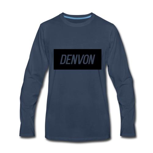 Denvonshirtlogo - Men's Premium Long Sleeve T-Shirt