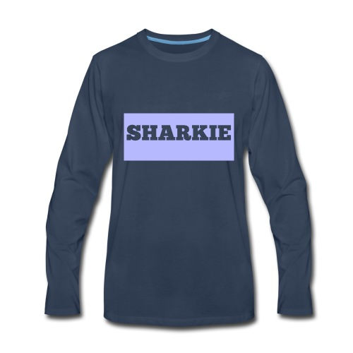 CUSTOM SHARKIE MERCH - Men's Premium Long Sleeve T-Shirt