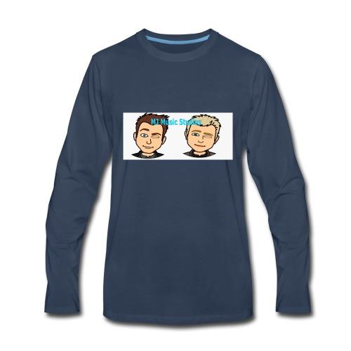 MJ Music Studios Phone Case - Men's Premium Long Sleeve T-Shirt