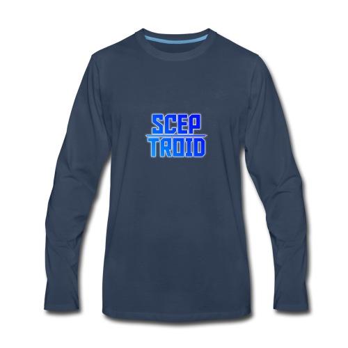 ScepTroid T-shirt! - Men's Premium Long Sleeve T-Shirt