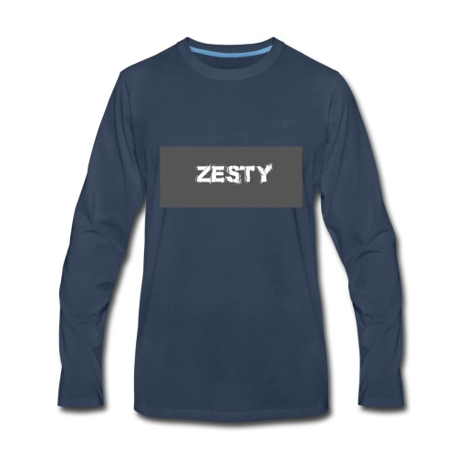 Spray Paint Font - Men's Premium Long Sleeve T-Shirt