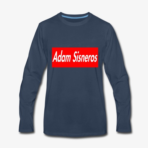 adamshirtlogo - Men's Premium Long Sleeve T-Shirt