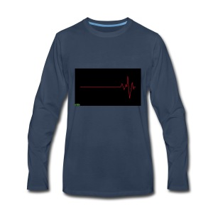 Heart Beat - Men's Premium Long Sleeve T-Shirt