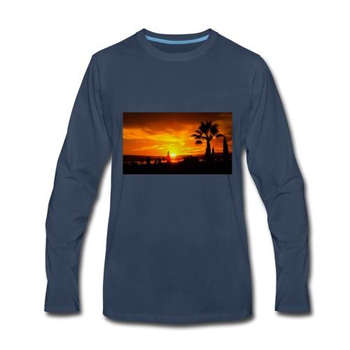last sunset - Men's Premium Long Sleeve T-Shirt