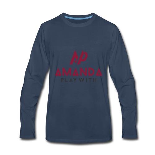 Amanda Playwith Logo Shirt - Men's Premium Long Sleeve T-Shirt