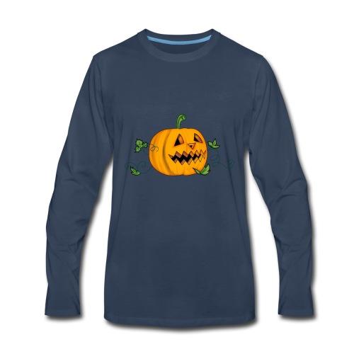 THE HALLOWEEN PUMPKIN - Men's Premium Long Sleeve T-Shirt