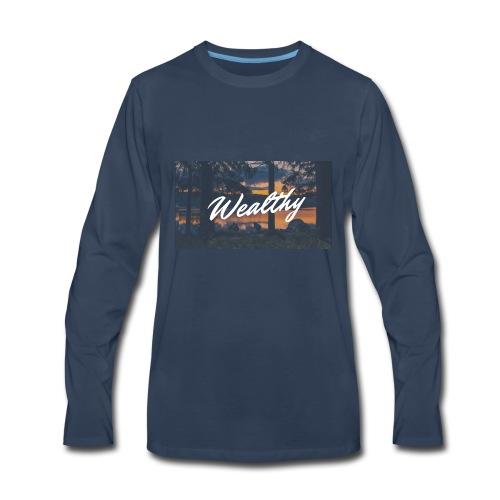 Wealthy Inc. - Men's Premium Long Sleeve T-Shirt