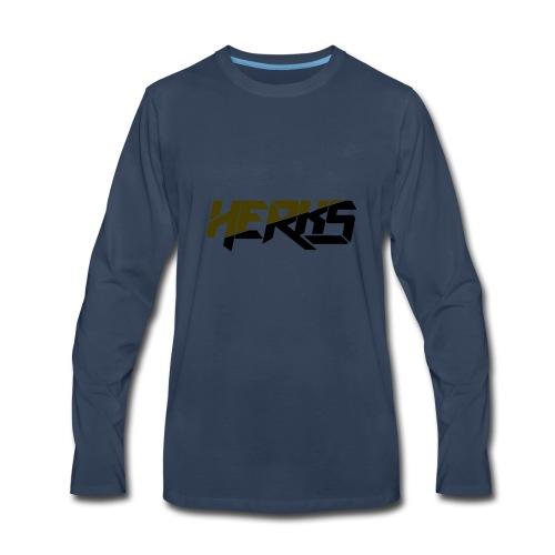 HerKs Military Text - Men's Premium Long Sleeve T-Shirt