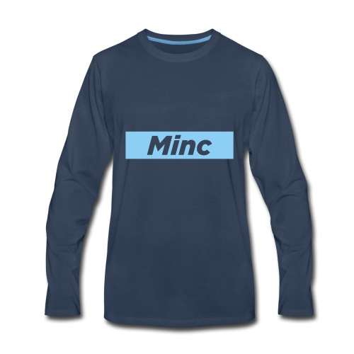 MincCutout - Men's Premium Long Sleeve T-Shirt