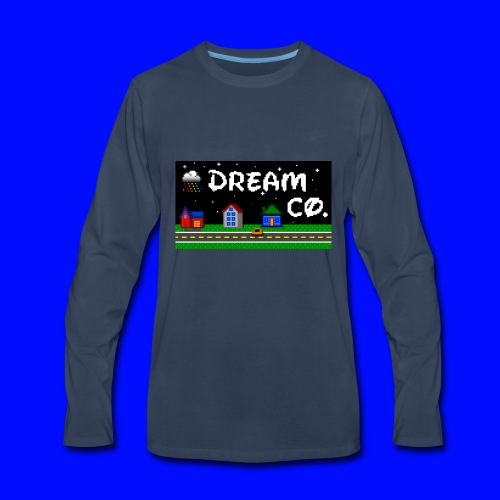Pixel Art - Men's Premium Long Sleeve T-Shirt
