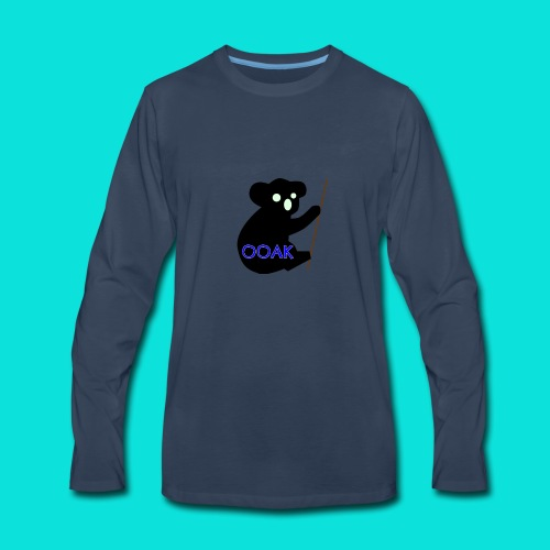One Of A Kind Blue 2 - Men's Premium Long Sleeve T-Shirt
