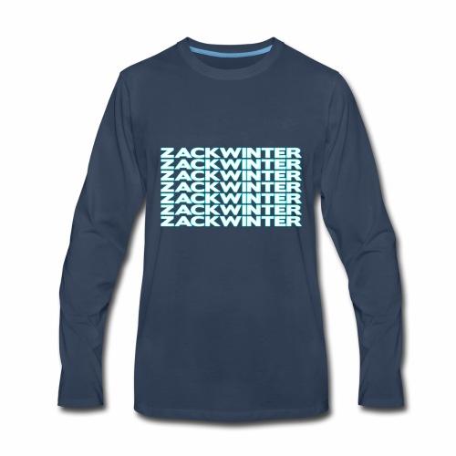 zackwinter - Men's Premium Long Sleeve T-Shirt