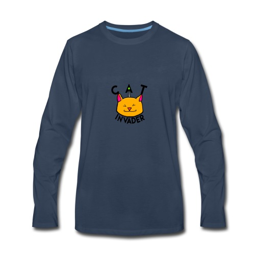 CatInavsders merchandise - Men's Premium Long Sleeve T-Shirt