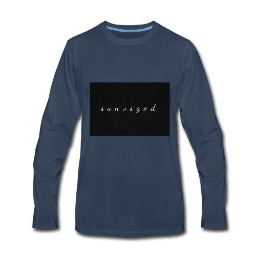 sunvsgod merch - Men's Premium Long Sleeve T-Shirt