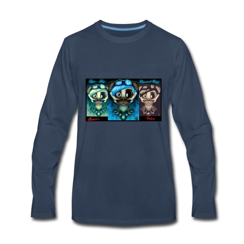 dan the diamond dog dantdm fnaf crossover by cin - Men's Premium Long Sleeve T-Shirt