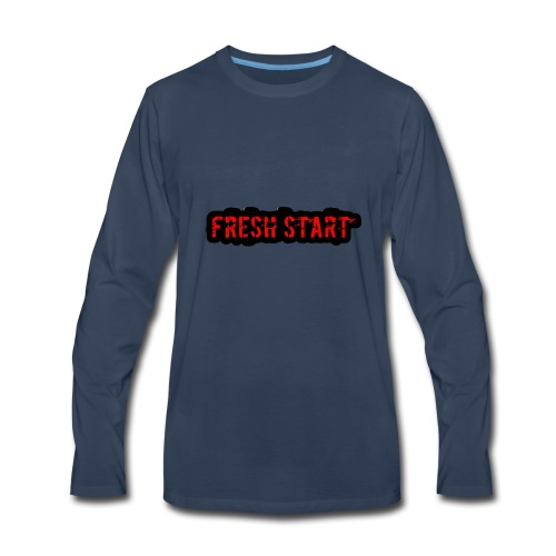 Fresh Start T - Men's Premium Long Sleeve T-Shirt