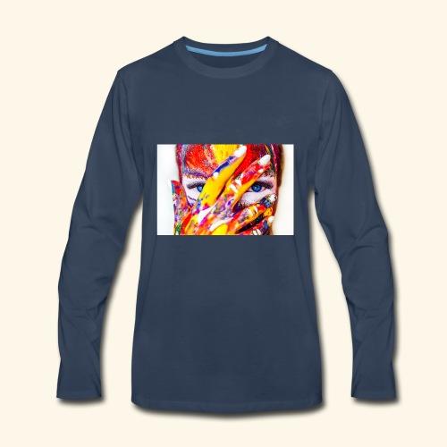 color - Men's Premium Long Sleeve T-Shirt