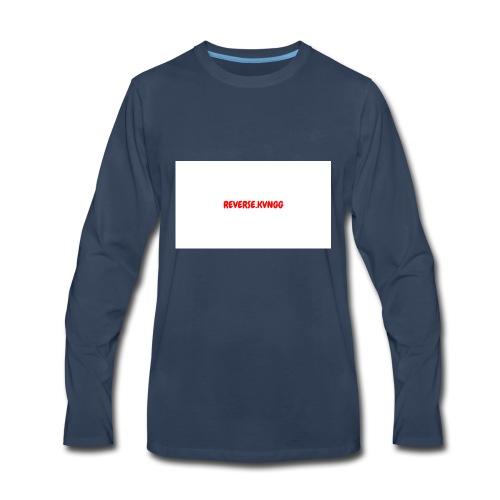 REVERSE KVNGG 1 - Men's Premium Long Sleeve T-Shirt