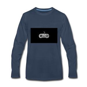controller logo that i made - Men's Premium Long Sleeve T-Shirt