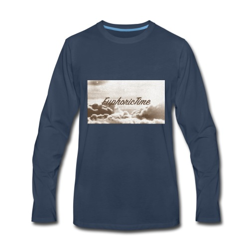 EuphoricTime Sepia - Men's Premium Long Sleeve T-Shirt