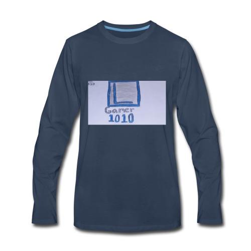 Luis Gamer 1010 merch - Men's Premium Long Sleeve T-Shirt