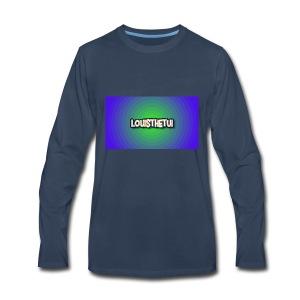 Cartoony Louisthetui Logo - Men's Premium Long Sleeve T-Shirt