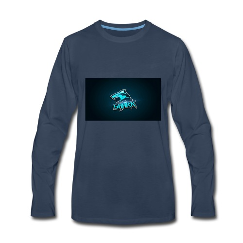 Shark hoodie - Men's Premium Long Sleeve T-Shirt