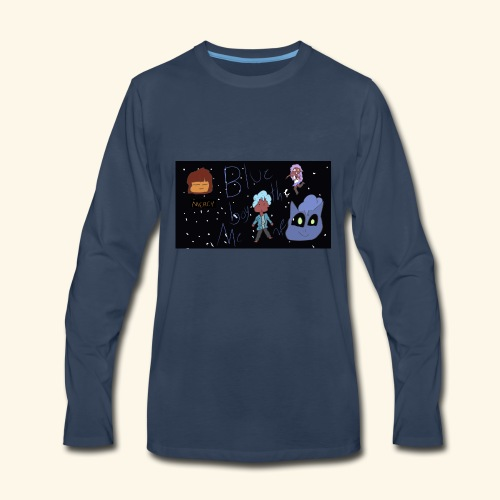 The Blu MERCH - Men's Premium Long Sleeve T-Shirt