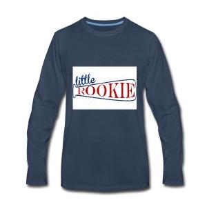 Little Rookie American - Men's Premium Long Sleeve T-Shirt
