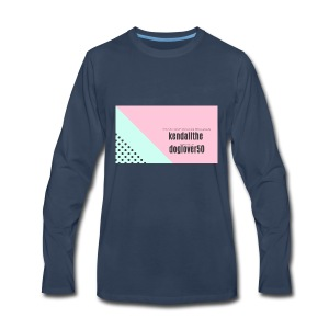 kendall - Men's Premium Long Sleeve T-Shirt