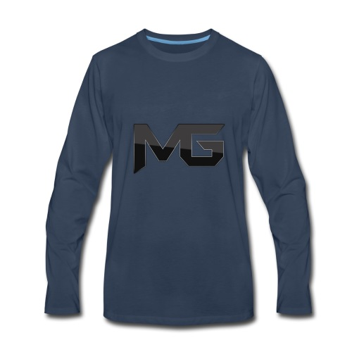 mg logo 2 - Men's Premium Long Sleeve T-Shirt
