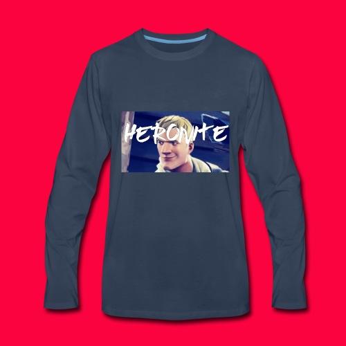 HeroNite Design - Men's Premium Long Sleeve T-Shirt