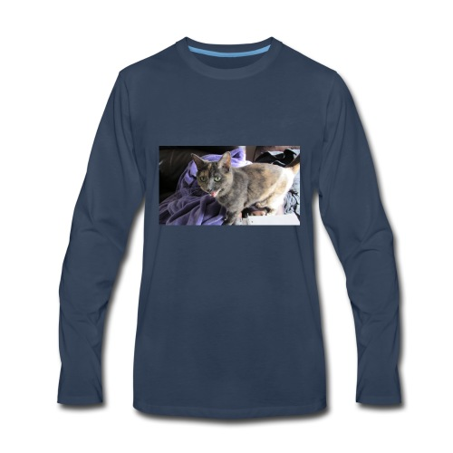 meow - Men's Premium Long Sleeve T-Shirt