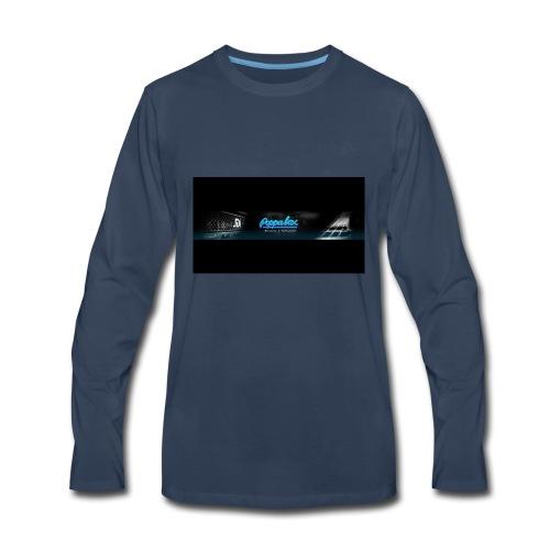 Poppalox Banner - Men's Premium Long Sleeve T-Shirt