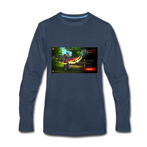 Cover - Men's Premium Long Sleeve T-Shirt