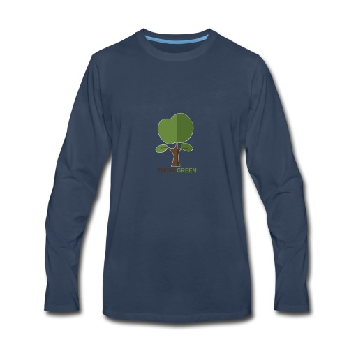 Think Green (naturecontest) - Men's Premium Long Sleeve T-Shirt