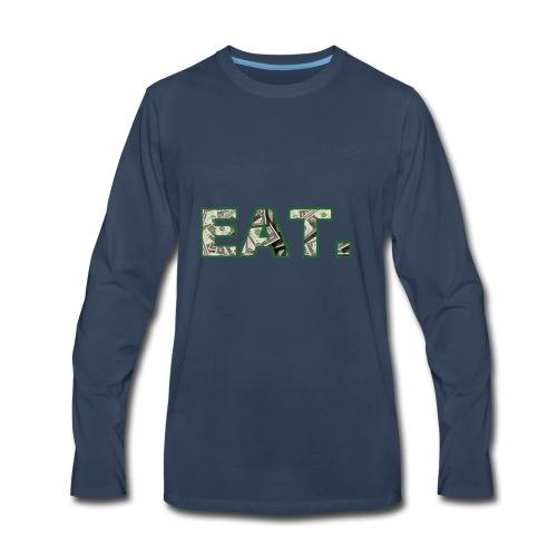 EAT.Dollar - Men's Premium Long Sleeve T-Shirt