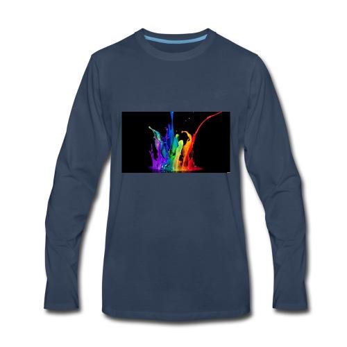 Splash - Men's Premium Long Sleeve T-Shirt