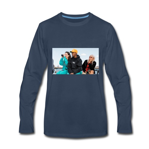 Chillin - Men's Premium Long Sleeve T-Shirt