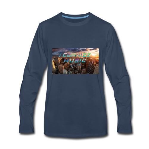 Technizz Music - Men's Premium Long Sleeve T-Shirt
