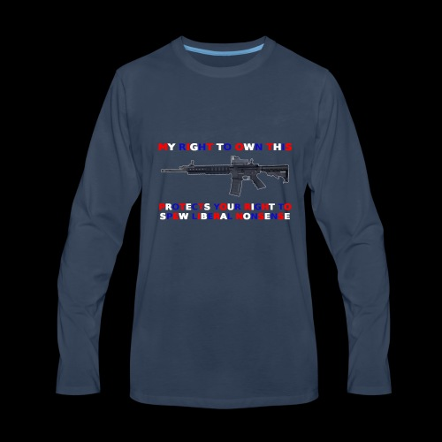 2nd Amendment - Men's Premium Long Sleeve T-Shirt