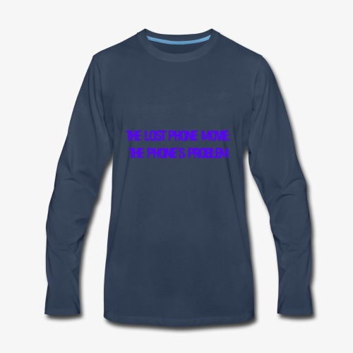 The Lost Phone Movie: The Phone's Problem - Men's Premium Long Sleeve T-Shirt