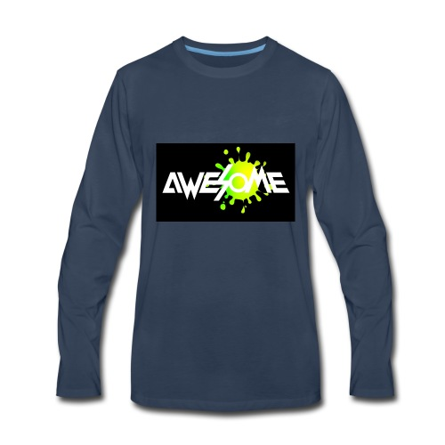 you are AWESOME - Men's Premium Long Sleeve T-Shirt