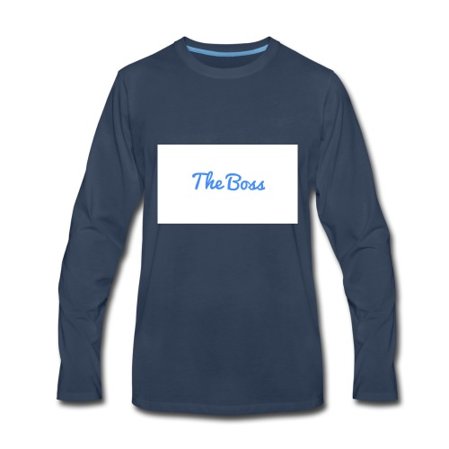 The Boss signture - Men's Premium Long Sleeve T-Shirt