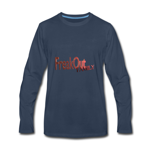 FreakOut Family Logo Print - Men's Premium Long Sleeve T-Shirt