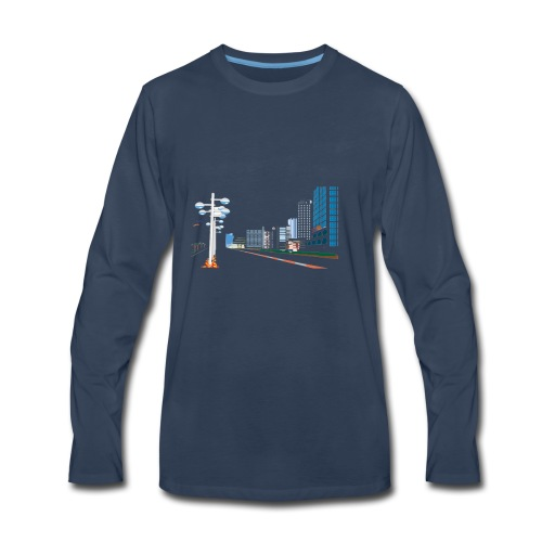 City shirt - Men's Premium Long Sleeve T-Shirt