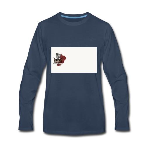 Logo Png edition - Men's Premium Long Sleeve T-Shirt