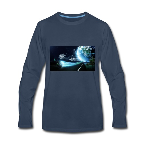 Earth Space Shirt - Men's Premium Long Sleeve T-Shirt